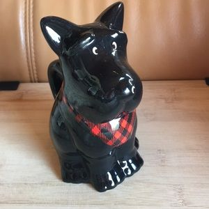 Scotch terrier cookie jar